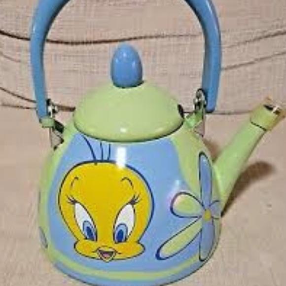 90s Warner Bros.™️TWEETY BIRD Tea Kettle